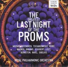 The Greatest Last Night of the Proms, 10 CDs