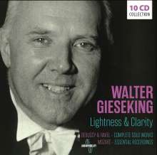 Walter Gieseking - Lightness & Clarity, 10 CDs