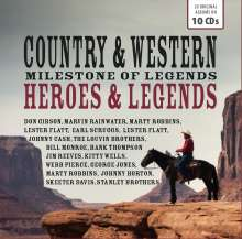 Country & Western Heroes & Legends, 10 CDs