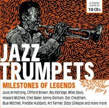 Jazz Trumpets - Milestones Of Legends, 10 CDs