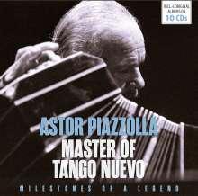 Astor Piazzolla (1921-1992): Master Of Tango Nuevo (Milestones Of A Legend), 10 CDs