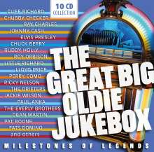 The Great Big Oldie Jukebox, 10 CDs