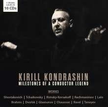 Kirill Kondrashin - Milstones of a Conductor Legend, 10 CDs