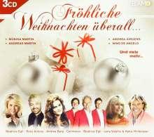 Fröhliche Weihnachten überall..., 3 CDs