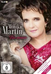Monika Martin: Für immer (Limited-Edition-Fanbox), 1 CD, 1 DVD und 1 Merchandise