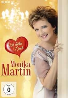 Monika Martin: Ich liebe Dich (Limitierte Fanbox), 1 CD, 1 DVD und 1 Merchandise
