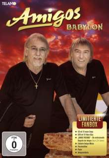 Die Amigos: Babylon (Limitierte Fan-Box), CD