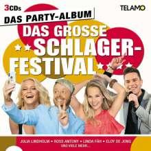 Das große Schlagerfestival: Das Partyalbum, 3 CDs