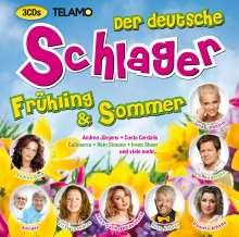 Der deutsche Schlager Frühling & Sommer, 3 CDs