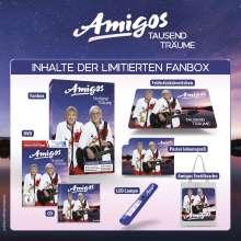 Die Amigos: Tausend Träume (Limited Fanbox Edition), 1 CD und 1 DVD