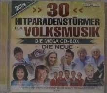 30 Hitparadenstürmer der Volksmusik, 2 CDs