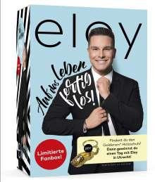 Eloy de Jong: Auf das Leben - Fertig los ! (limitierte Fanbox), 1 CD und 1 Merchandise