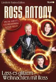 Ross Antony: Lass es glitzern: Weihnachten mit Ross (limitierte Fanbox), 1 CD und 1 Merchandise