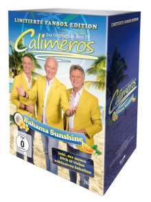 Calimeros: Bahama Sunshine (Limitierte Fanbox Edition), 1 CD, 1 DVD und 1 Merchandise