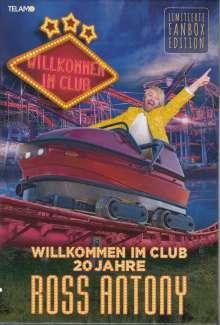 Ross Antony: Willkommen im Club - 20 Jahre (Limitierte Fanbox Edition), 2 CDs und 1 Merchandise