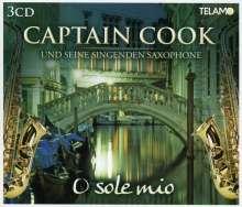 Captain Cook und seine singenden Saxophone: O Sole Mio, 3 CDs