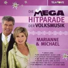 Marianne & Michael: Mega Hitparade der Volksmusik, CD