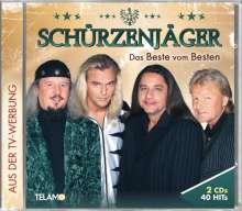Schürzenjäger: Das Beste vom Besten, 2 CDs