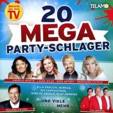 20 Mega Party Schlager, CD