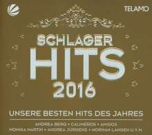 Schlager Hits 2016 (Limited-Edition), 3 CDs und 1 DVD