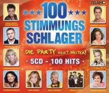 100 Stimmungsschlager - Die Party geht weiter, 5 CDs