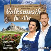 Lydia Huber & Benjamin Grund präsentieren: Volksmusik für Alle, 2 CDs