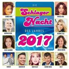 Die Schlagernacht des Jahres 2017 - Die Zweite, CD