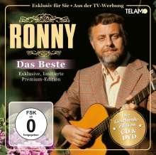 Ronny: Das Beste (Geschenkedition), 1 CD und 1 DVD