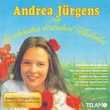 Andrea Jürgens: Andrea Jürgens singt die schönsten deutschen Volkslieder, CD