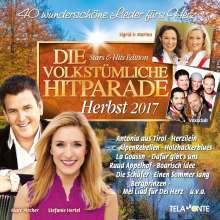 Die volkstümliche Hitparade Herbst 2017, 2 CDs