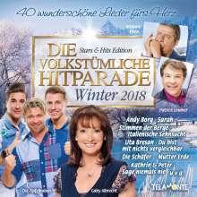 Die volkstümliche Hitparade: Winter 2018, 2 CDs
