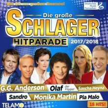 Die große Schlager Hitparade 2017/2018, CD