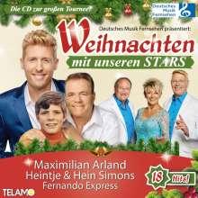 Weihnachten mit unseren Stars, CD