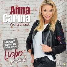 Anna-Carina Woitschack: Liebe passiert, CD