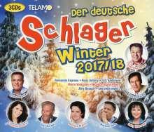 Der deutsche Schlager Winter 17/18, 3 CDs