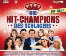 Die Hit-Champions des Schlagers: Die Neue (2018), 3 CDs