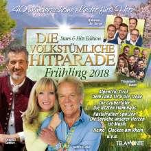 Die volkstümliche Hitparade Frühling 2018, 2 CDs