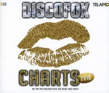Discofox Charts 2018, 3 CDs