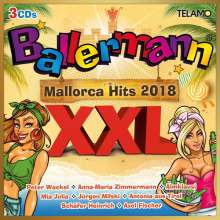 Ballermann XXL-Mallorca Hits 2018, 3 CDs