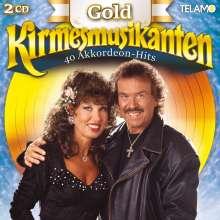 Die Kirmesmusikanten: Gold: 40 Akkordeon-Hits, 2 CDs