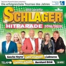 Die große Schlager Hitparade 2018/2019, CD