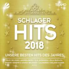 Schlager Hits 2018, 4 CDs