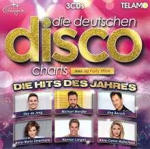 Die deutschen Disco Charts: Hits des Jahres, 3 CDs