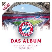 FC Bayern: Der Soundtrack zur Saison 18/19, CD