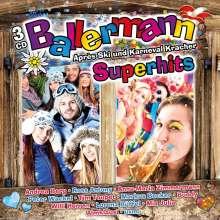 Ballermann Superhits: Après Ski & Karneval Kracher, 3 CDs