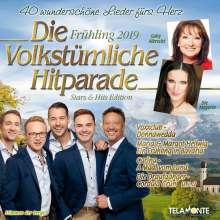 Die volkstümliche Hitparade Frühling 2019, 2 CDs