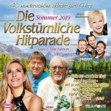 Die volkstümliche Hitparade Sommer 2019, 2 CDs