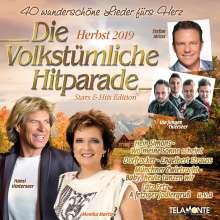 Die volkstümliche Hitparade Herbst 2019, 2 CDs