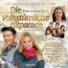 Die volkstümliche Hitparade Weihnachten 2019, CD
