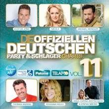 Die offiziellen deutschen Party & Schlager Charts Vol.11, 2 CDs